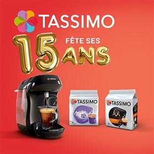 Jeu Tassimo : tasses, machines à café et bons à gagner