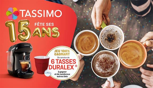 Tentez de remporter une machine ou des tasses à café avec Tassimo