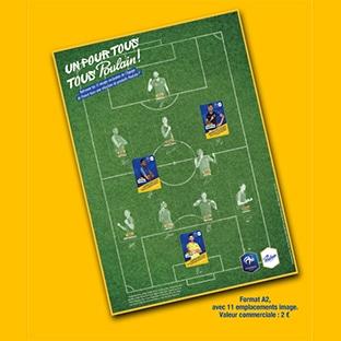 Collection de stickers foot Tous Poulain : 5000 posters gratuits