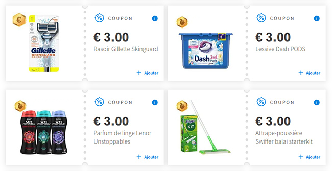 Coupons de réduction boostés sur Envie de Plus