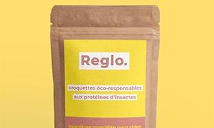 Echantillons gratuits des croquettes pour chiens aux insectes Reglo