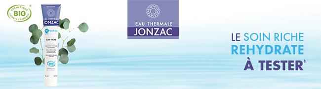 Testez gratuitement le soin riche REhydrate de Jonzac