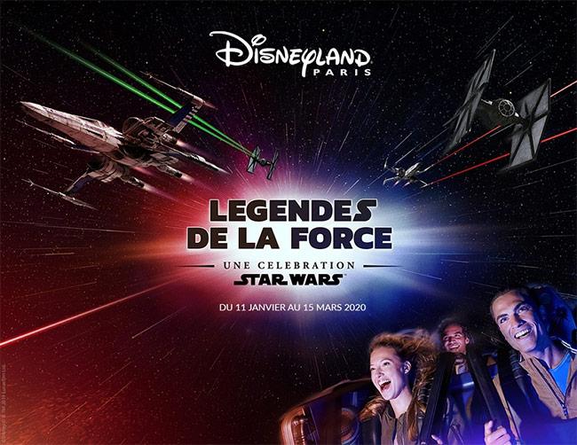 Jeu Légendes de la force : Disneyland Paris