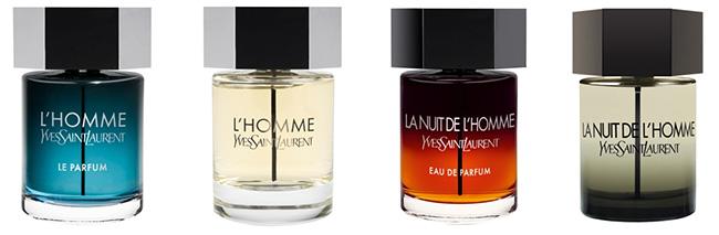 Echantillons gratuits de parfums de la collection L'Homme