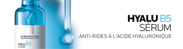 Recevez vos 8 échantillons gratuits de sérum Hyalu B5 La Roche-Posay