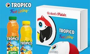 Instants Plaisir Box dégustation Coca Cola : Coffret Tropico