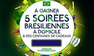 Jeu Aguacana : soirée et produits Brésiliens à gagner