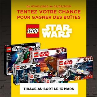 Jeu Leo Resto : Lego Stars Wars à gagner