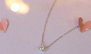 Jeu St Valentin Maty : coliers en diamant synthétique à gagner