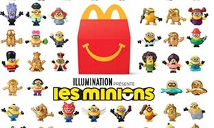 Jouet Minions McDo : 100 figurines à collectionner