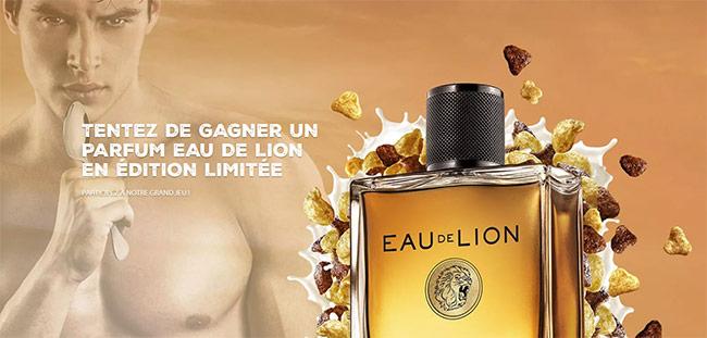 Tentez de remporter votre fragrance Eau de Lion by Nestlé