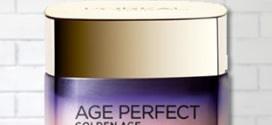 Test L'Oréal Paris : Soins Nuit Froid Age Perfect Golden Age gratuits