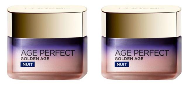 Testez gratuitement le osin de nuit froid Age Perfect Golden Age de L'Oréal Paris avec Femme Actuelle
