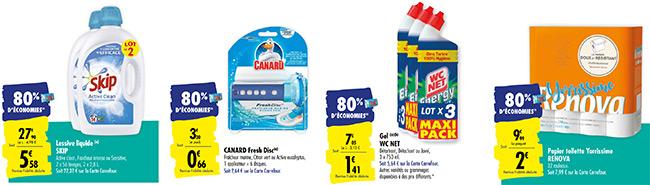 Obtenez 80% de remise fidélité avec Carrefour