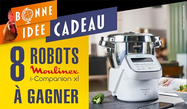 Tentez de remporter votre robot I-Companion XL avec Maître Coq