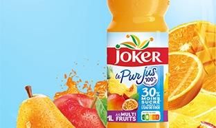 Test Insiders : bouteilles jus Jocker moins sucrées