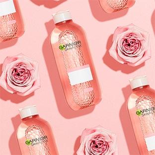 Test Sampleo : Solution Micellaire à l'eau de rose Garnier gratuite