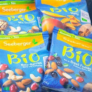 Test Sampleo : mélanges bio Seeberger gratuits