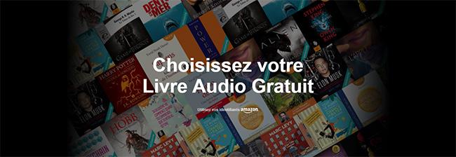 Accédez gratuitement aux 33 livres audio d'Audible