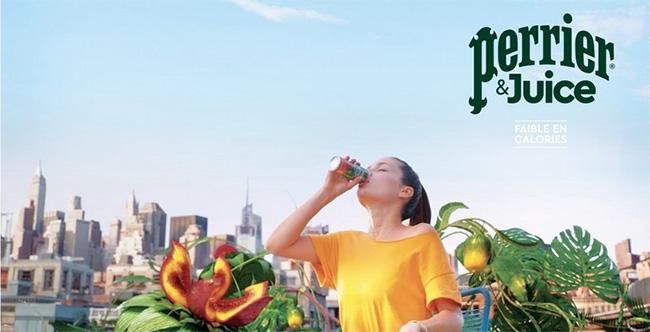 testez les boissons Perrier & Juice avec Croquons la Vie