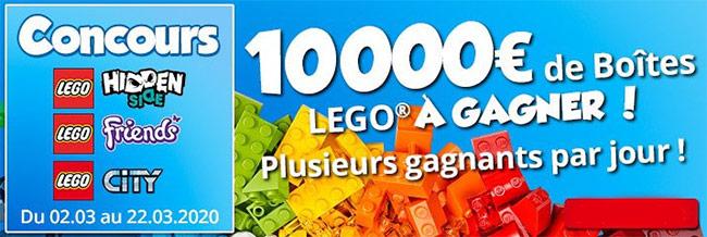 Tentez de remporter une boîte de Lego avec Maxitoys