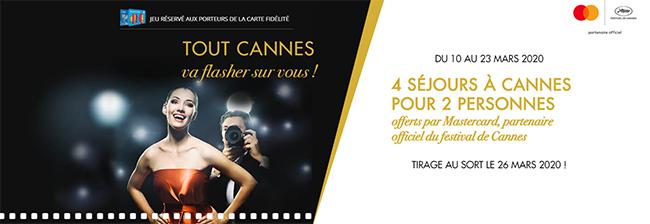 Tentez de gagner des séjours au jeu Tout Cannes