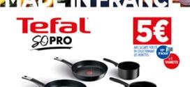Opération Vignettes Carrefour : produits Tefal So Pro pas chers