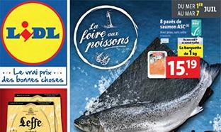 Catalogue Lidl La Foire aux poissons