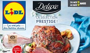 Catalogue Lidl «Deluxe» du mercredi 11 au mardi 17 mars 2020
