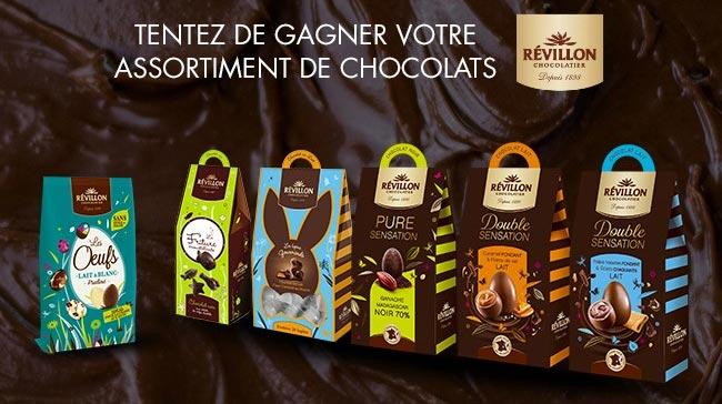 Tentez de gagner un lots de chocolats Révillon avec Télé7jours