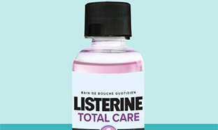 Echantillons de bain de bouche Listerine Total Care