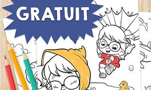 Hourra Héros : Livre de coloriage gratuit