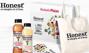 Instants Plaisir Box dégustation Coca Cola : Coffret Honest