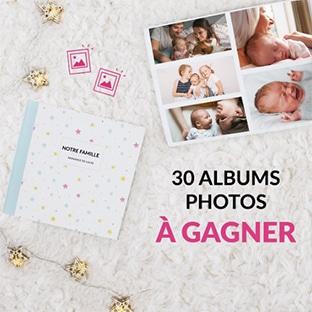 Jeu La Boîte Rose : 30 albums photos à gagner