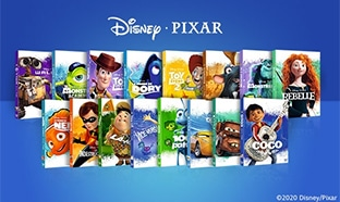 Jeu Disney Extras : Collection de 17 DVD Disney Pixar à gagner
