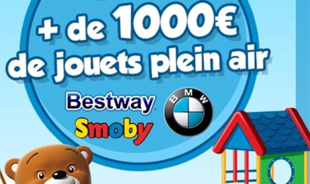 Jeu Maxi Toys : 14 jouets de plein air à gagner