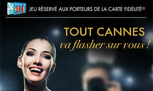 Jeu Tout Cannes sur www.Carrefour.fr/animations-magasins