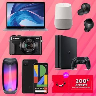 Jeux concours Rakuten : 9 lots (MacBook, PS4, smartphone…)
