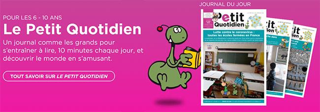 Téléchargez gratuitement le PDF de Le Petit Quotidien