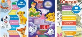 Bon plan Lidl : Coffrets de 10 livres Disney pas chers