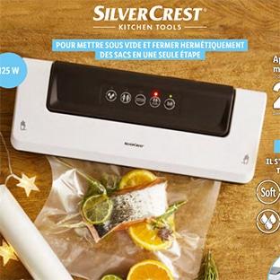 Bon pla Lidl : Appreil sous vide SilverCrest pas cher