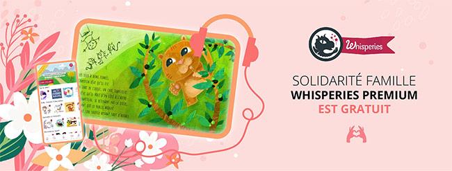 Accédez gratuitement à plus de 800 livres numériques et audio avec Whisperies