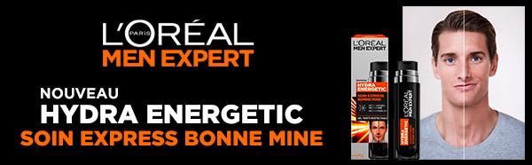 Testez gratuitement le soin Express Bonne Mine L'Oréal Men Expert