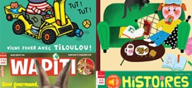 Magazines enfants gratuits (numériques) : Picouti, Wapiti,…