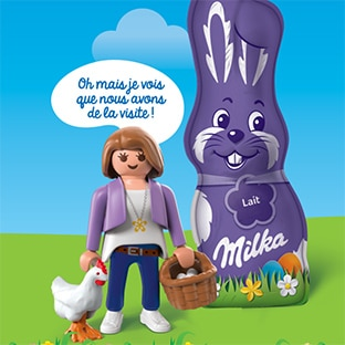 Milka Pâques Playmobil