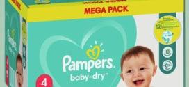 Promo Couches Pampers chez Auchan : 80% de remise fidélité