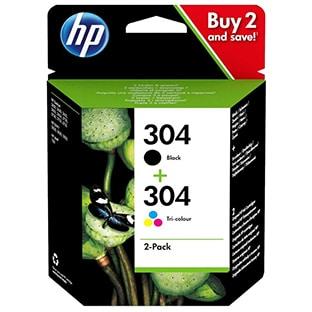 Promo : Pack 2 cartouches HP (noir+ tri-coloris) dès 21,90€