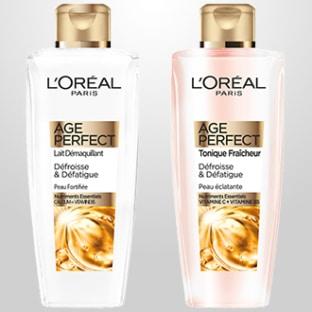 Test de produits L'Oréal Paris Age Perfect : 200 soins gratuits