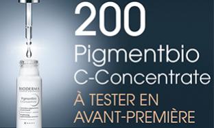 Test Bioderma : 200 soins Pigmentbio C-Concentrate gratuits
