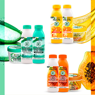 Test Sampleo : Menus de soins capillaires Fructis de Garnier
